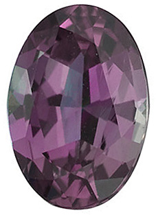 Loose Genuine  Alexandrite Stone, Oval Shape, Grade AA, 5.00 x 4.00 mm in Size, 0.42 Carats