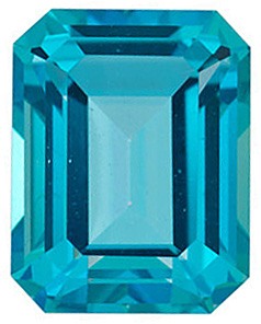 Gemstone Loose  Paraiba Passion Topaz Gemstone, Emerald Shape, Grade AAA, 9.00 x 7.00 mm in Size