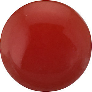Gemstone Loose  Red Coral Gemstone, Round Shape Cabochon, Grade AA, 3.00 mm