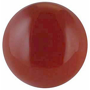 Discount Reddish Orange Carnelian Stone, Round Shape Cabochon, Grade AAA, 3.00 mm in Size