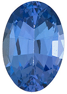 Natural Loose  Tanzanite Gemstone, Oval Shape, Grade AAA, 5.00 x 4.00 mm in Size, 0.37 Carats