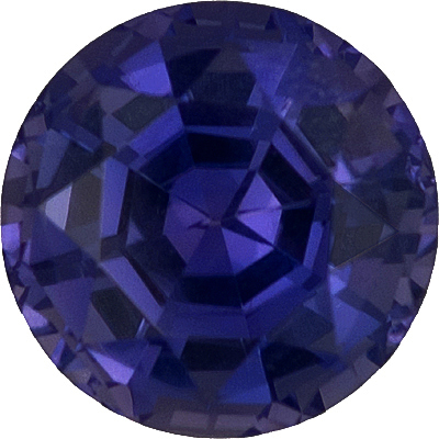Exceptional Very Impressive 10mm Natural Sri Lankan Sapphire - AGL No Heat, Bright Round Cut, 4.71 carats