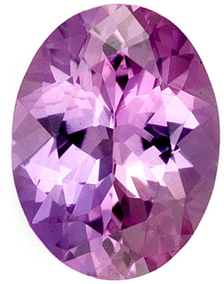 Exquisite Lavender Pink Ceylon Purplish Sapphire - Beautiful Cut & Lots of Life, Oval Cut, 0.99 carats