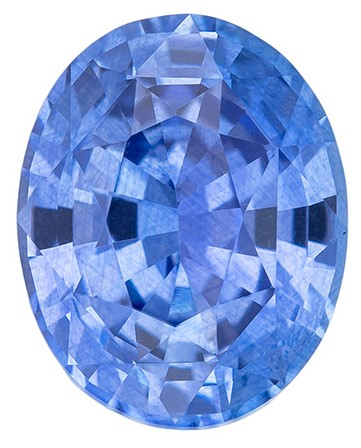 Genuine Blue Sapphire Gemstone, Oval Cut, 2.04 carats, 8.4 x 6.7 mm , AfricaGems Certified - A Great Buy
