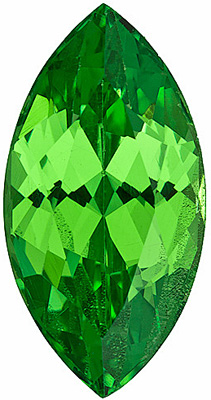 Fabulous Fiery Tsavorite, Bright Bright Minty Color! Marquise cut, 1.83 carats