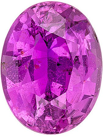 Fabulous Unheated Pink Sapphire Stone for SALE! AGL Certified Gemstone from Ceylon, Oval Cut, 2.67 carats