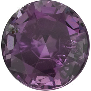 Faceted Alexandrite Stone, Round Shape, Grade AA, 2.00 mm in Size, 0.04 Carats