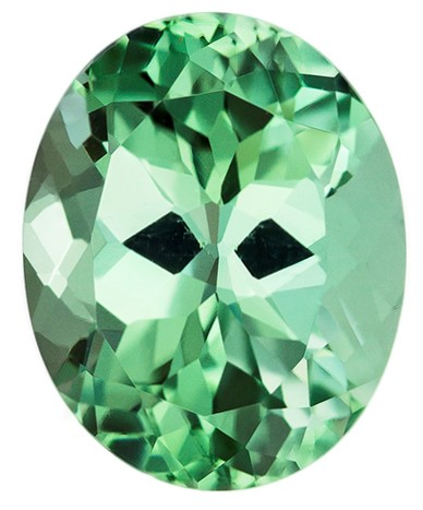 Faceted Blue Green Tourmaline Gemstone, Oval Cut, 2.84 carats, 9.9 x 8 mm , AfricaGems Certified - An Extraordinary