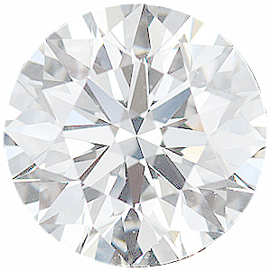 Faceted Diamond Melee, Round Shape, F Color - VS Clarity, 1.00 mm in Size, 0.005 Carats