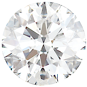 Faceted Diamond Melee, Round Shape, G-H Color - I1 Clarity, 2.70 mm in Size, 0.07 Carats
