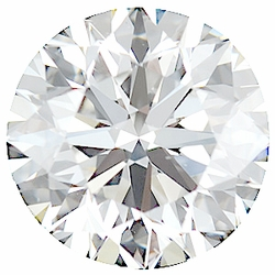 Faceted Diamond Melee, Round Shape, G-H Color - VS Clarity, 3.20 mm in Size, 0.12 Carats