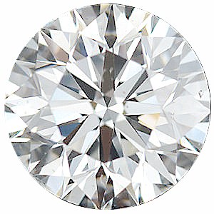Faceted Diamond Melee, Round Shape, I-J Color - SI1 Clarity, 4.10 mm in Size, 0.2 Carats