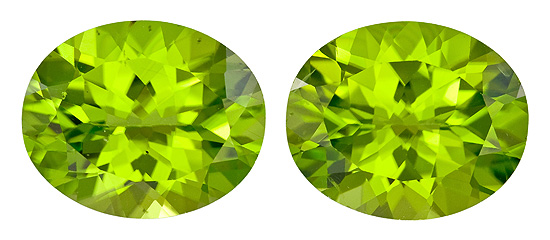 Faceted Vibrant Peridot Gemstone, Oval Cut, 7.2 carats, 11 x 9 mm , AfricaGems Certified - A Impressive Gem