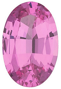 Faceted Spinel Stone, Oval Shape, Grade AAA, 5.00 x 3.00 mm in Size, 0.25 Carats
