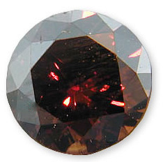 Fancy Brownish Orange 0.88 carats