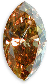 Fancy Brownish Yellow Diamond 1.00 carats