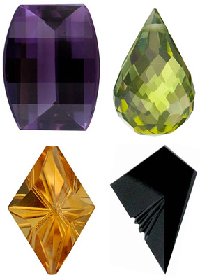 FANCY CUT GEMSTONES