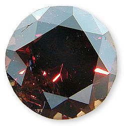 Fancy Deep Orangy Brown 0.79 carats