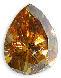 Fancy Slight Orangish Yellowish Brown 1.14 carats