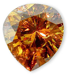 Fancy Yellowish Brown Diamond 1.14 carats