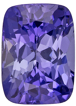 Fantastic Purple Sapphire Genuine Ceylon Gemstone - Super Bright & Lively, Desirable Outline, Cushion Cut, 6.3 x 4.6 mm, 0.99 carats