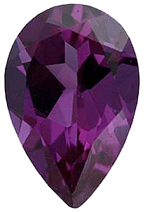 Faux Pear Shape Loose Color Change Alexandrite Gemstone Sized 5.00 x 3.00 mm