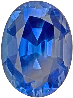 Fine Ceylon Blue Sapphire Natural Gemstone for SALE, Oval Cut, 3.00 carats