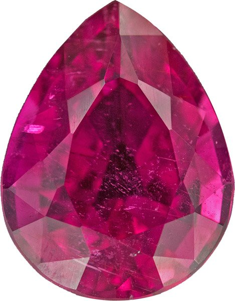 Finest Gemstone Rubelite Tourmaline, Incredible Color and German Cut in 15.9 x 12.2 mm, 8.69 carats