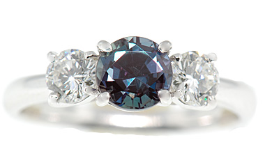 55be63f7d078c Alexandrite Engagement Rings - Engagement Rings With Natural Alexandrite