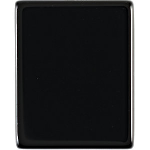 Flat Top Cushion Genuine Black Onyx in Grade AAA