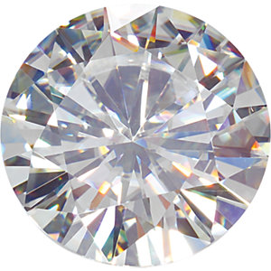 Forever One Round Cut GHI Moissanite Gems Color
