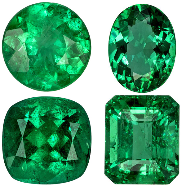Emerald Gemstone Natural Loose Emeralds For Emerald Rings At