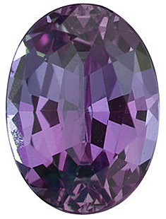 Genuine Alexandrite Stone, Oval Shape, Grade A, 3.50 x 3.00 mm in Size, 0.15 Carats