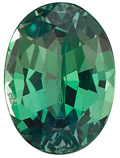 Faceted Alexandrite Gemstone, Oval Shape, Grade A, 4.00 x 3.00 mm in Size, 0.2 Carats