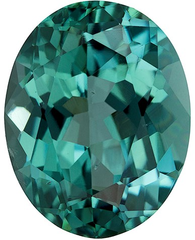Genuine Blue Tourmaline Gemstone, Oval Cut, 3.37 carats, 10.9 x 8.5 mm , AfricaGems Certified - A Low Price