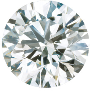 Loose Faceted  Canadian Diamond Melee, Round Full Cut, G-H Color SI2-SI3 Clarity, 2.70 mm in Size, 0.07 Carats