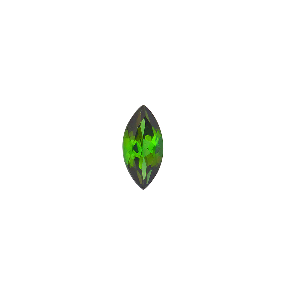 Faceted Loose Calibrated Top Quality Genuine Marquise Shape Green Tourmaline Gemstone Grade AAA, 5.00 x 2.50 mm in Size, 0.15 Carats