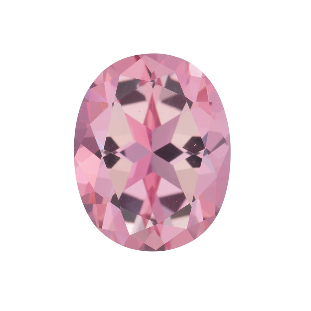 Genuine Cut Quality Oval Shape Baby Pink Passion Topaz Gemstone Grade AAA, 10.00 x 8.00 mm in Size