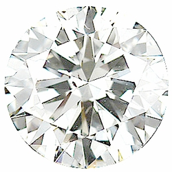 Loose  Diamond Melee Parcel, 15 Pieces, 2.51 - 2.73 mm Size Range, SI1 Clarity - G-H Color, 1 Carat Total Weight