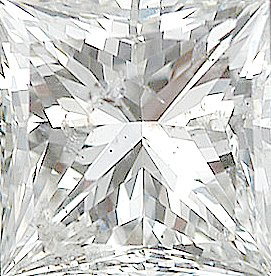 Genuine Diamond Melee, Princess Shape, G-H Color - I1 Clarity, 2.00 mm in Size, 0.05 Carats