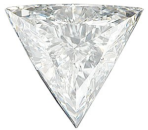 Genuine Diamond Melee, Triangle Shape, G-H Color - VS Clarity, 5.00 mm in Size, 0.34 Carats