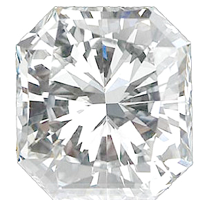 Genuine Diamonds in Radiant Cut - GH VS Quality Grade