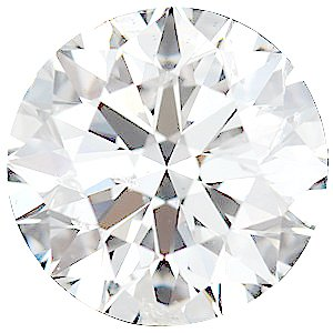 Genuine Diamonds in Round Cut - GH Color- I Clarity