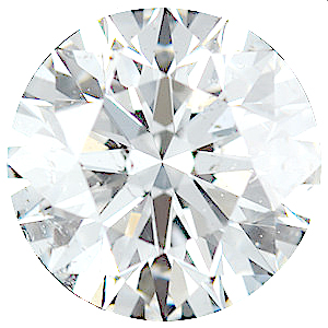 Genuine Diamonds in Round Cut GH Color - SI Clarity