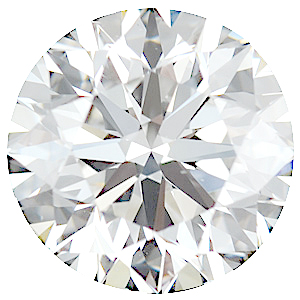 Genuine Diamonds in Round Cut GH Color - VS Clarity