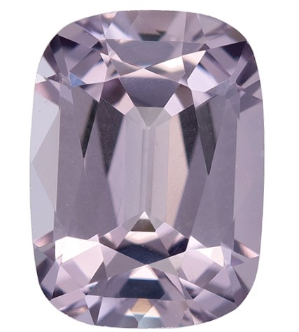 Genuine Gray Spinel Gemstone, Cushion Cut, 1.26 carats, 7.4 x 5.5 mm , AfricaGems Certified - A Deal