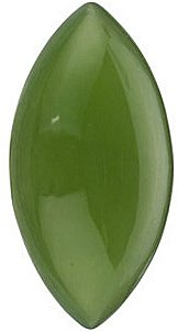 Genuine Jade Marquise Cut - Calibrated in Grade AAA