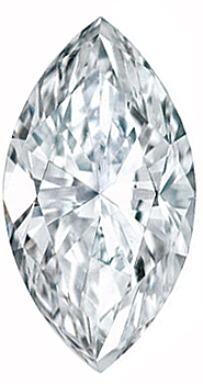 Genuine Marquise Diamond - G-H Color  SI Clarity