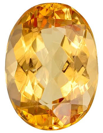 Genuine Precious Topaz Gemstone, Oval Cut, 1.6 carats, 8 x 6 mm , AfricaGems Certified - A Deal