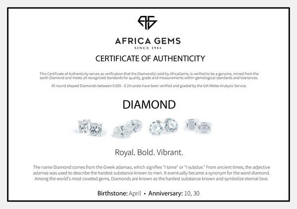 Genuine Princess Cut Diamonds in F+ Color - VS Clarity